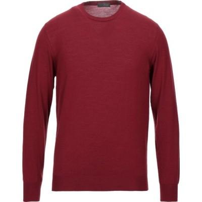 ドルモア DRUMOHR メンズ ニット・セーター トップス sweater Brick red