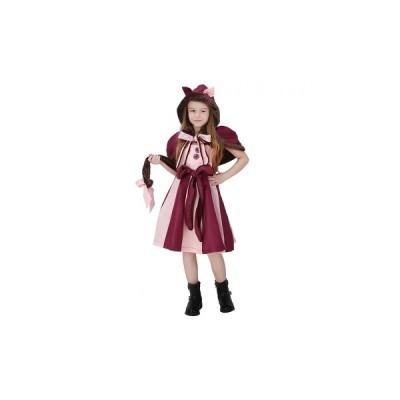 ハロウィン コスプレ 仮装 衣装 不思議の国のアリス アニマル チェシャ猫 猫 ねこ ネコ 子供 舞台 パーティー イベント子供 魔女 悪魔 学生 保育園 かわいい …