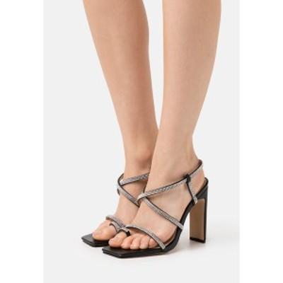 レイド レディース サンダル シューズ VANITY - T-bar sandals - black black