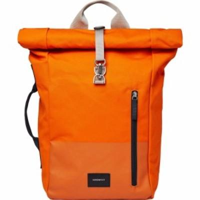 サンドクヴィスト Sandqvist ユニセックス バックパック・リュック バッグ Dante Vegan Backpack Burnt Orange With Coating