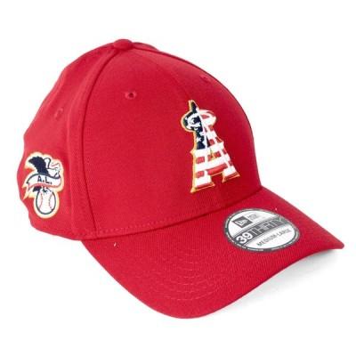 大谷翔平選手所属 エンゼルス キャップ ニューエラ NEW ERA  MLB 2018 スターズ&ストライプス フレックス レッド