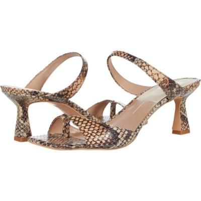 ドルチェヴィータ Dolce Vita レディース サンダル・ミュール シューズ・靴 Tanika Tan Multi Snake Print Leather