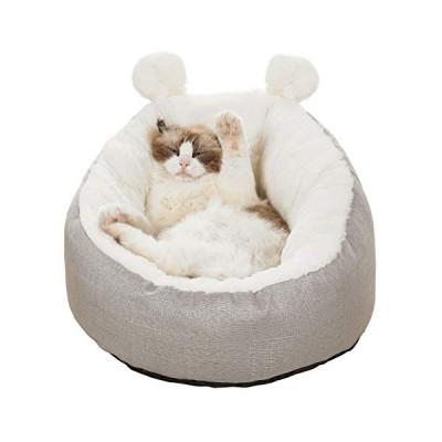 V-Dank 猫 ベッド 犬 クッション ペット ソファ ベット ふわふわ あったか 洗える ペット用マット キャット ラウ