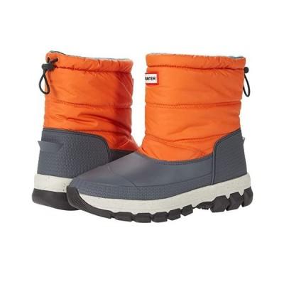 ハンター Original Insulated Snow Boot Short レディース ブーツ Corten Orange