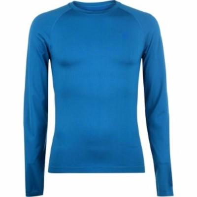 ネヴィカ Nevica メンズ トップス Banff Thermal Seamless Top Petrol Blue