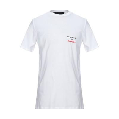 ヌメロ NUMERO 00 T シャツ ホワイト S コットン 100% T シャツ