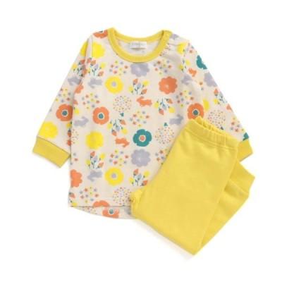 【50%OFF セール】Ampersandアンパサンド フラワーモチーフ柄かぶりパジャマ
