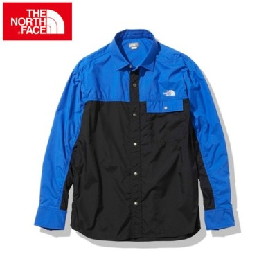 ノースフェイス 長袖シャツ メンズ レディース L/S Nuptse Shirt ロングスリーブヌプシシャツ NR11961 KB THE NORTH FACE