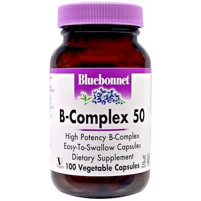 B-Complex 50, 100 Vegetable Capsules