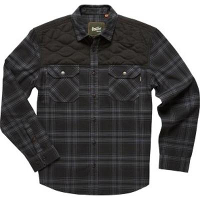 ハウラーブラザーズ メンズ シャツ トップス Quintana Quilted Flannel Shirt - Men's Avery Plaid/Ant Black/Black
