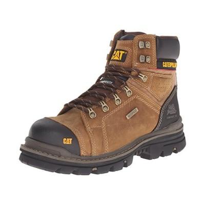 Caterpillar メンズ Hauler 6 インチ WP Comp Toe Work ブーツ, ダーク ベージュ, 12 M U(海外取寄せ品)