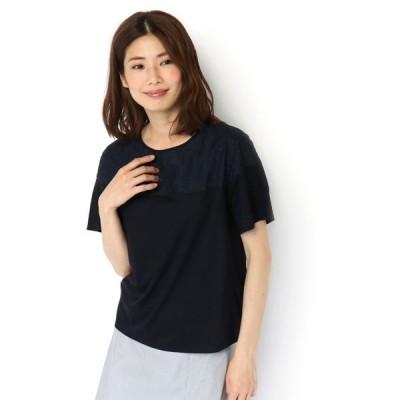 tシャツ Tシャツ ショルダーレースカットソー