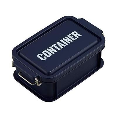 オーエスケー 弁当箱 ネイビー 容量:約450ml ランチチャイム コンテナ ランチボックス S CNT-450