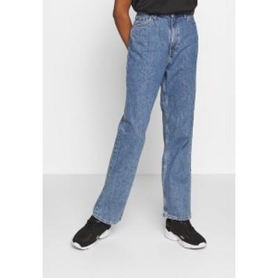 モンキ レディース デニムパンツ ボトムス TAIKI STRAIGHT LEG - Straight leg jeans - medium blue thrift blue medium blue thrift blu