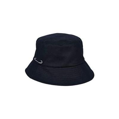MACK BARRY MCBRY BUCKET HAT バケットハット バケハ 黒 メンズ レディース ユニセックスデザイン (ブラック)