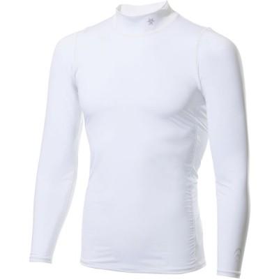 C3fit(シースリーフィット) メンズ クーリングタートルネックロングスリーブ Men's Cooling Turtle Neck Long Sleeves ホワイト
