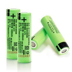 18650充電式鋰單電池(日本松下原裝正品)3350mAh*4顆入+送專用防潮盒*2