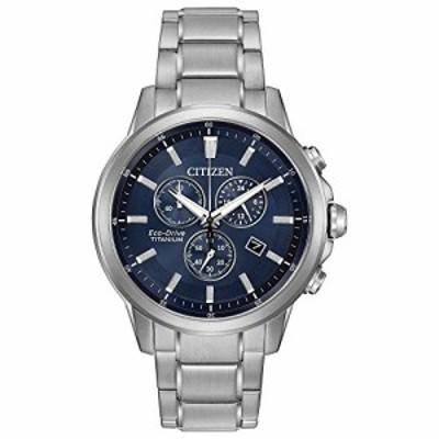 腕時計 シチズン 逆輸入 Citizen Eco-Drive Men's 'Titanium' Quartz Casual Watch, Color: Silver-Toned (