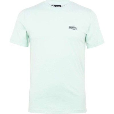 バブアー Barbour International メンズ Tシャツ ロゴTシャツ トップス Small Logo T Shirt Peppermint GN