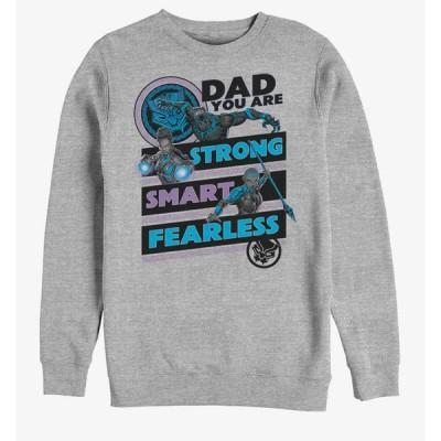 ブラックパンサー スウェット マーベル Marvel Black Panther Panther Dad Sweatshirt レディース メンズ