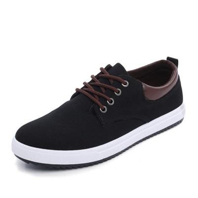 シューズメンズスニーカー靴メンズ靴帆布カジュアルシューズブーツローカットおしゃれ紳士靴ズック靴キャンバススニーカーローファー