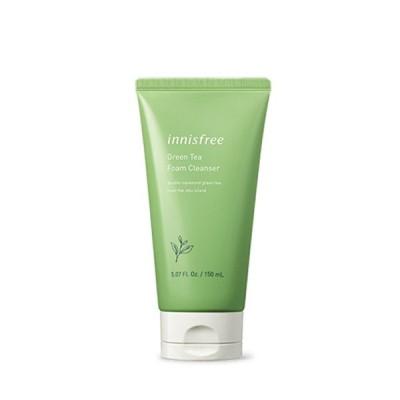 グリーンティ フォーム クレンザー Green Tea Foam Cleanser 150ml イニスフリー innisfree 韓国コスメ 洗顔 洗顔料 緑茶 定形外郵便送料無料