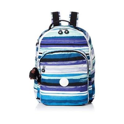 Kipling CLAS SEOUL School Backpack, 45 cm, 25 liters, Multicolour (Joyfull Stripes) 並行輸入品