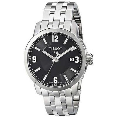 腕時計 ティソット Tissot メンズ T0554101105700 'PRC 200' ステンレス スチール 腕時計