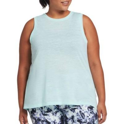 DSG レディース シャツ トップス DSG Women's Plus Size Core Cotton Jersey Tank Top