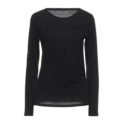 マジェスティック MAJESTIC FILATURES T シャツ ブラック 3 コットン 70% / カシミヤ 30% T シャツ