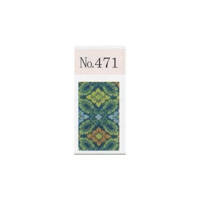 (No,471/新大和錦・小葵)紺・10釜/1m単位