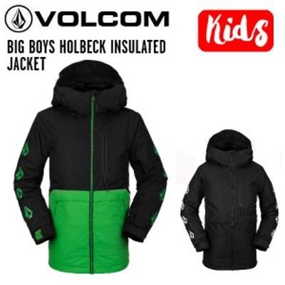 【VOLCOM】ボルコム 2020/2021 BIG BOYS HOLBECK INSULATED JACKET キッズ ボーイズ ジャケット スノーウェア スノーボード S/M/L/XL 2カ
