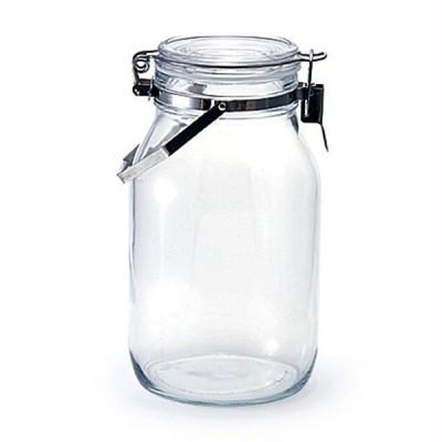 瓶 保存瓶 ガラス保存容器 取手付密封びん 2L