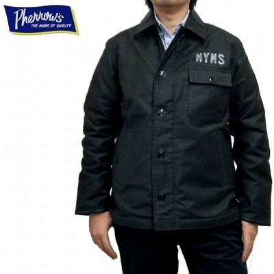 デッキジャケット NYNSカスタム 日本製 プレーンモデル A-2 A2 18w-p-a-2deck-c Pherrow's フェローズ 商品入れ替えの為、在庫処分! アクリルボア仕様