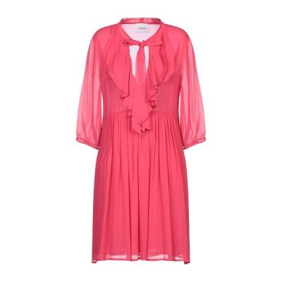 ANNARITA N TWENTY 4H ミニワンピース&ドレス フューシャ 42 Viloft® 100% ミニワンピース&ドレス