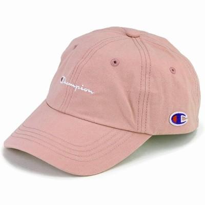 帽子 キャップ レディース ローキャップ カジュアル 大人 かわいい チャンピオン メンズ スポーツ champion cap ピンク