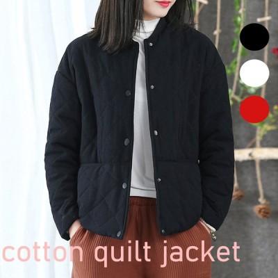 キルティング素材 ジャケット 3色