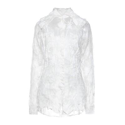 NINA RICCI シャツ ホワイト 38 シルク 100% シャツ