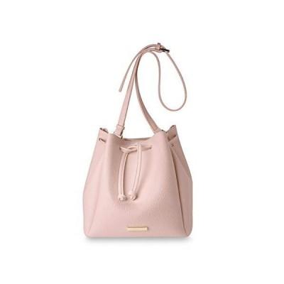Katie Loxton X-Large Chloe Bucket Women's Vegan Leather Shoulder Handbag Blush Pink【並行輸入品】