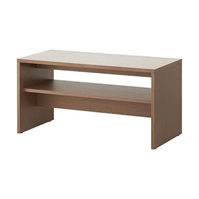 届け先法人限定 オフィスコム 応接テーブル センターテーブル ハイタイプ 収納棚板付き 幅1100×奥行550×高さ560m