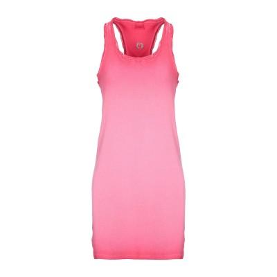ノリータ NOLITA ミニワンピース&ドレス フューシャ XL コットン 97% / ポリウレタン 3% ミニワンピース&ドレス