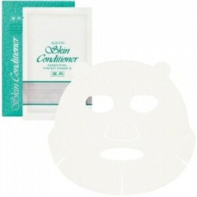 ALBION アルビオン 薬用スキンコンディショナー エッセンシャル ペーパーマスク 12ml×8枚入 フェイスパック シートマスク 敏感肌用 低