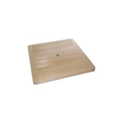 アラスカヒノキ 角セイロ用 スリフタ (蒸気穴付き底板) ひのき 角せいろ 尺一寸用 特選 国産品 手造り