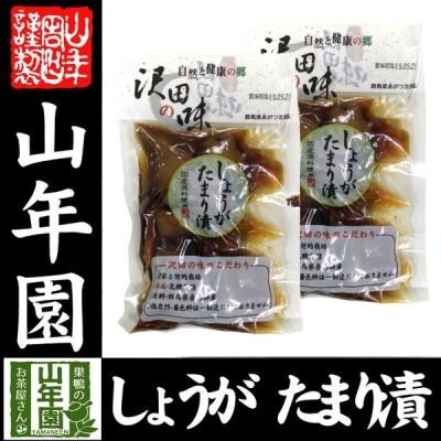 沢田の味 しょうが たまり漬 100g×2袋セット 送料無料