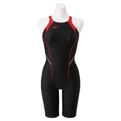 競泳用ハーフスーツ(レースオープンバック)(レディース) MIZUNO ミズノ スイム 競泳水着 STREAM ACE レースオープンバック (N2MG0220)