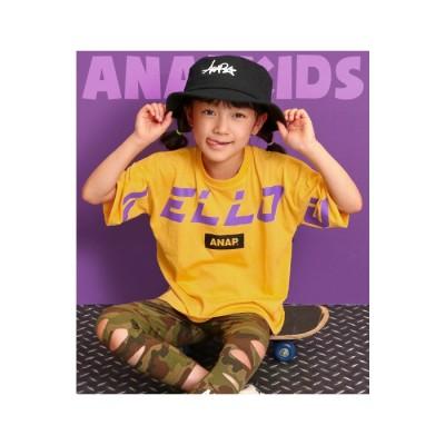 ANAP FELLOWプリントTシャツ / ANAP KIDS / 423-1958 ホワイト 100 キッズ