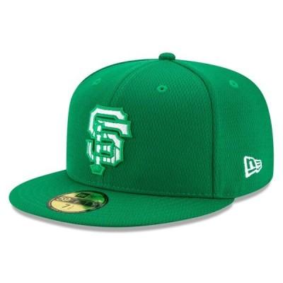 MLB ジャイアンツ キャップ/帽子 2020 セント・パトリックス・デー オンフィールド 59FIFTY ニューエラ/New Era ケリーグリーン
