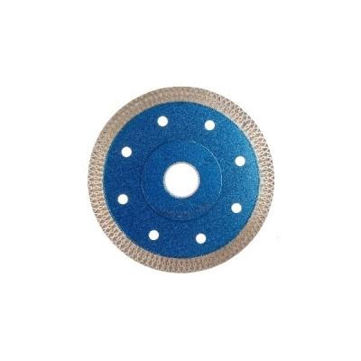 4.5インチダイヤモンドドライ切断ブレードディスクは、磁器タイルのブレードグラインダーホイールを見ました