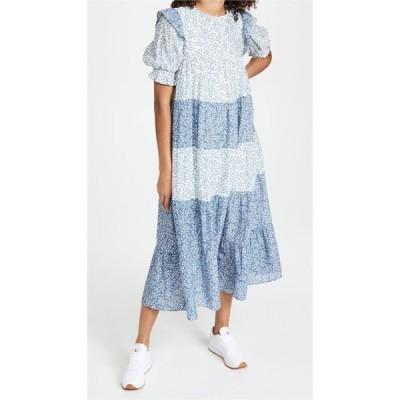 エンドレスローズ endless rose レディース ワンピース ティアードドレス ワンピース・ドレス Floral Tiered Midi Dress Multi