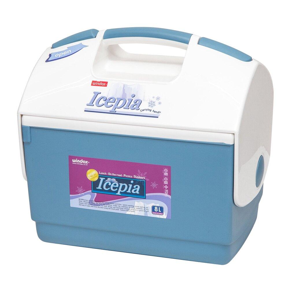 (福利品)【韓國WINDAX】攜帶式冰桶8L(外盒受損)